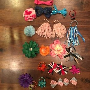Cute bows and hair bands!